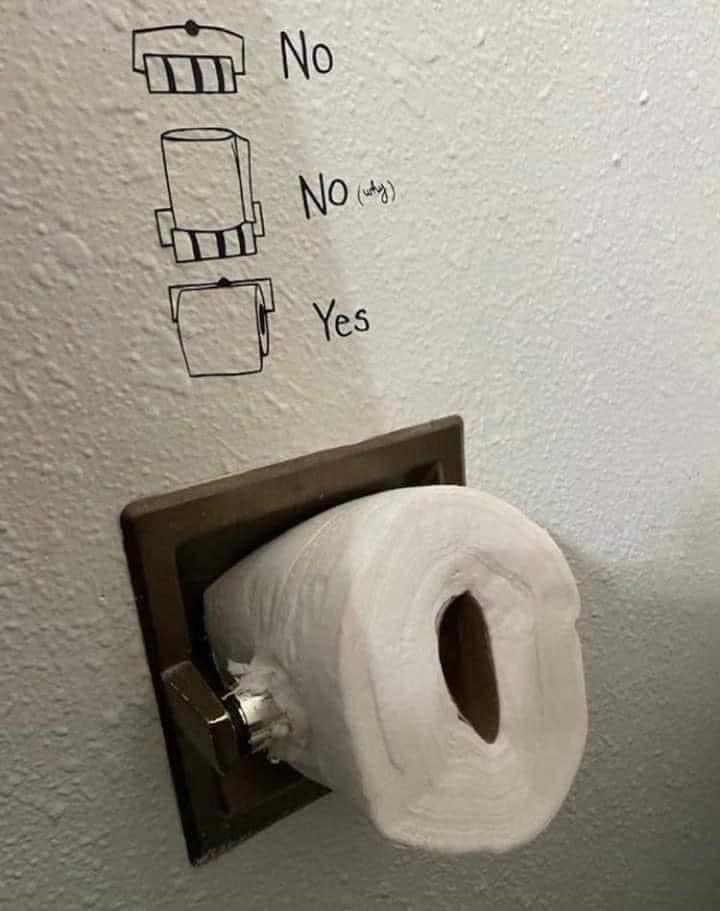 funny memes, funny pics, funny, memes | thinking outside the box putting new toilet paper roll in