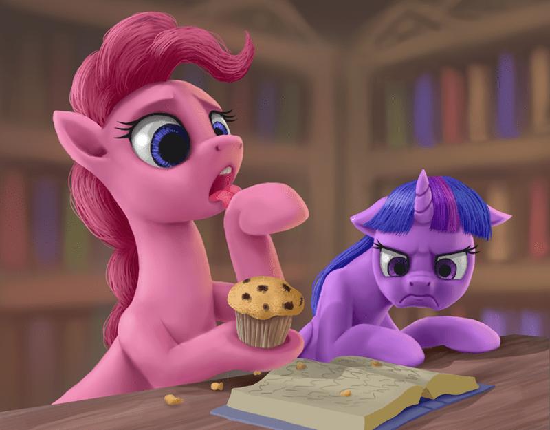 twilight sparkle pinkie pie odooee - 9571568896