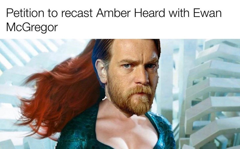 Hair - Petition to recast Amber Heard with Ewan McGregor