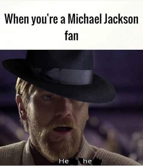 Hat - When you're a Michael Jackson fan Не he