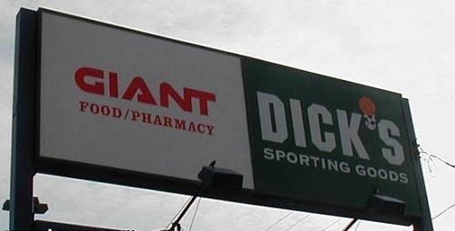Advertising - GIANT DICK'S FOOD/PHARMACY SPORTING GOODS