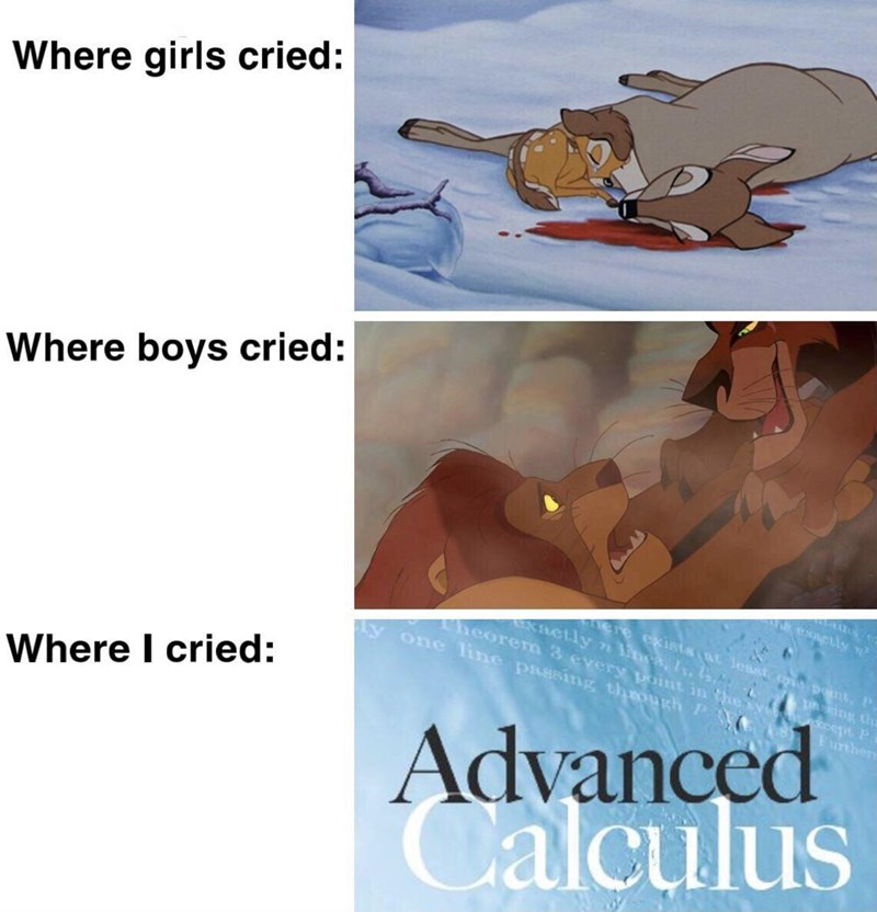 Text - Where girls cried: Where boys cried: Ne exctly ere exists t Jeast cna pont,P. EXactly n s, Is. , Theorem 3 every point in thesy one line passing thROugh P ing tha Advanced Calculus Further Where I cried: