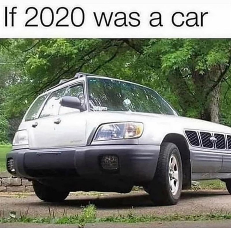 Motor vehicle - If 2020 was a car