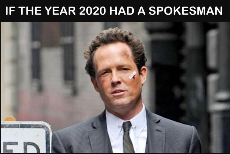 Forehead - IF THE YEAR 2020 HAD A SPOKESMAN