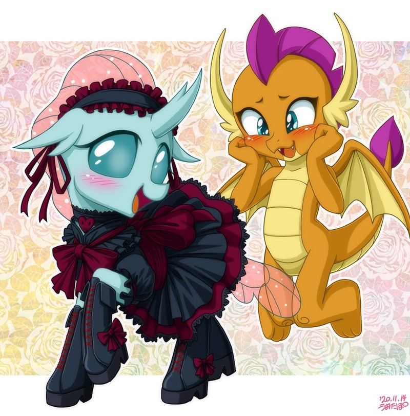 dragon smolder ocellus uotapo changelings - 9572075264