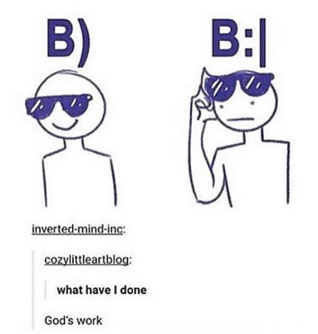 White - B) B: inverted-mind-inc: cozylittleartblog: what have I done God's work