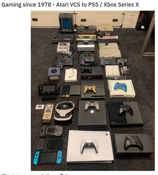 Electronics - Gaming since 1978 - Atari VCS to PS5 / Xbox Series X