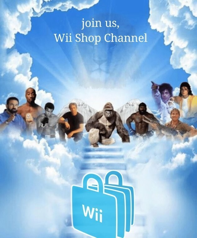 Sky - join us, Wii Shop Channel Wii