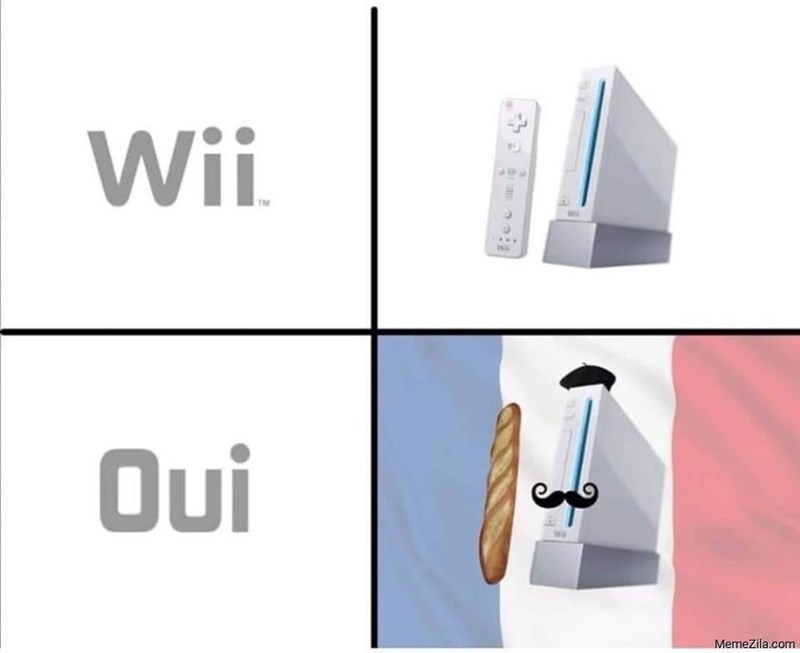 Product - Wii TM Oui MemeZila.com