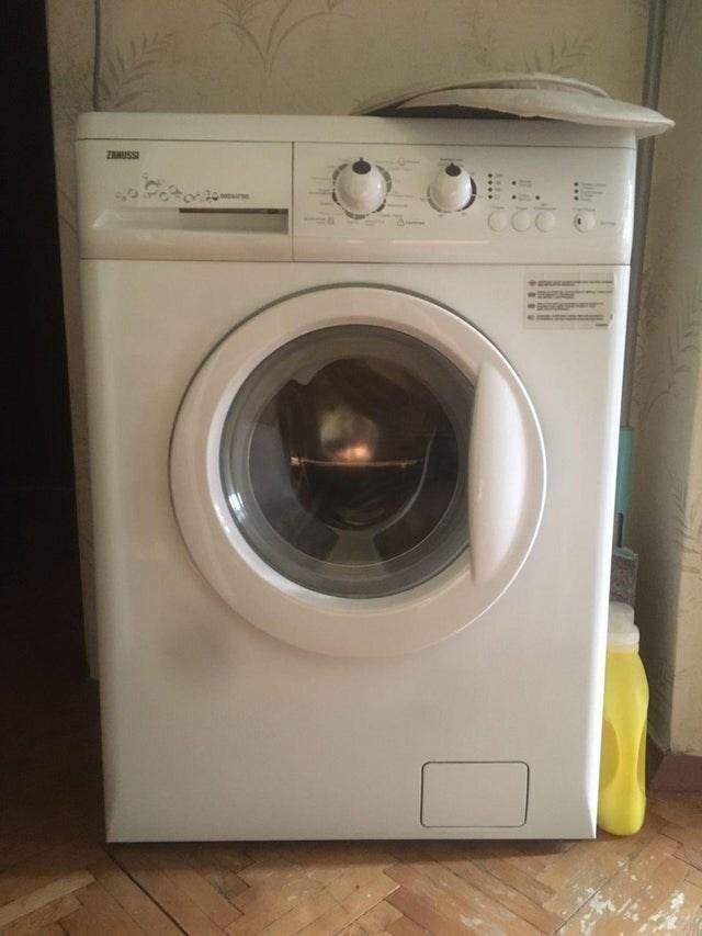 Washing machine - ZANUSSI