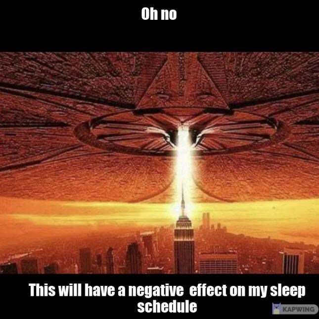 Sky - Oh no This will have a negative effect on my sleep schedule KAPWING