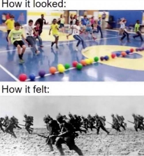 Recreation - How it looked: How it felt: