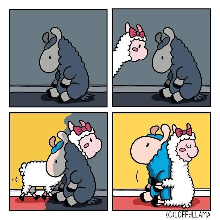 Cartoon - (C)LOFFYLLAMA