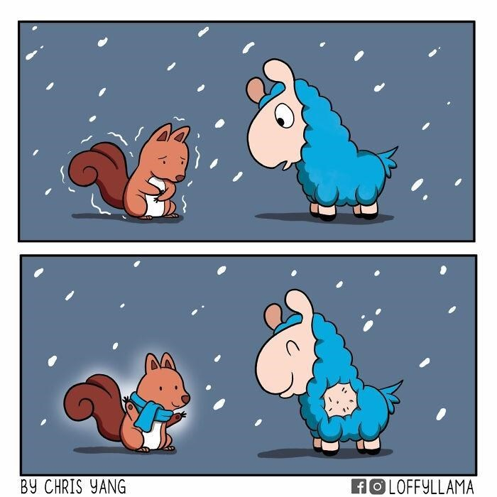 Cartoon - BY CHRIS YANG AO LOFFYLLAMA