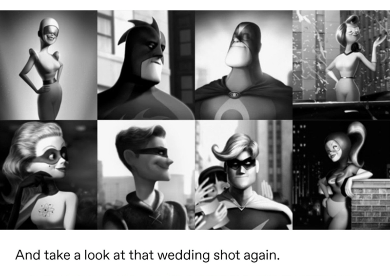 Photograph - And take a look at that wedding shot again.