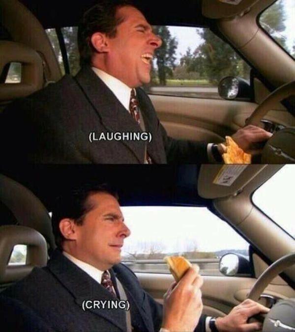 Motor vehicle - (LAUGHING) (CRYING)