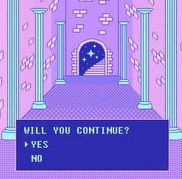 Text - SESS WILL YOU CONTINUE? > YES NO