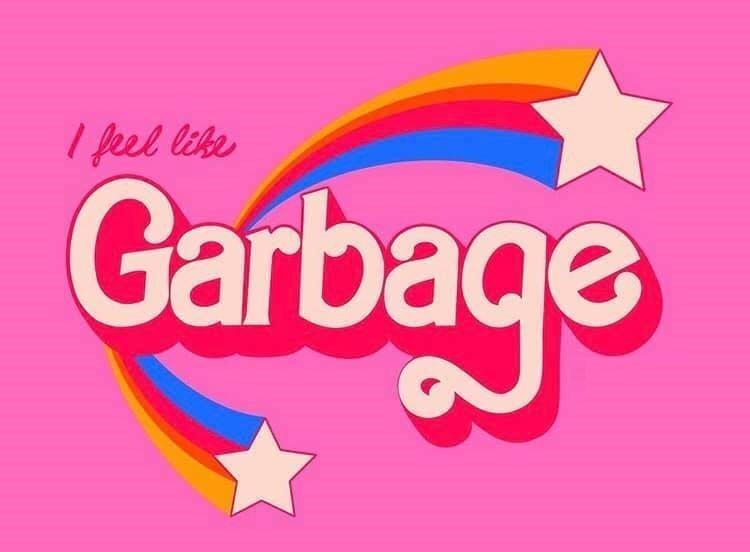 Text - I feel like Garbac