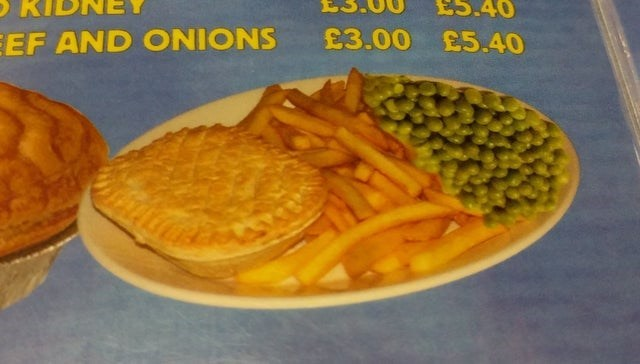Food - £5.40 EEF AND ONIONS £3.00 £5.40