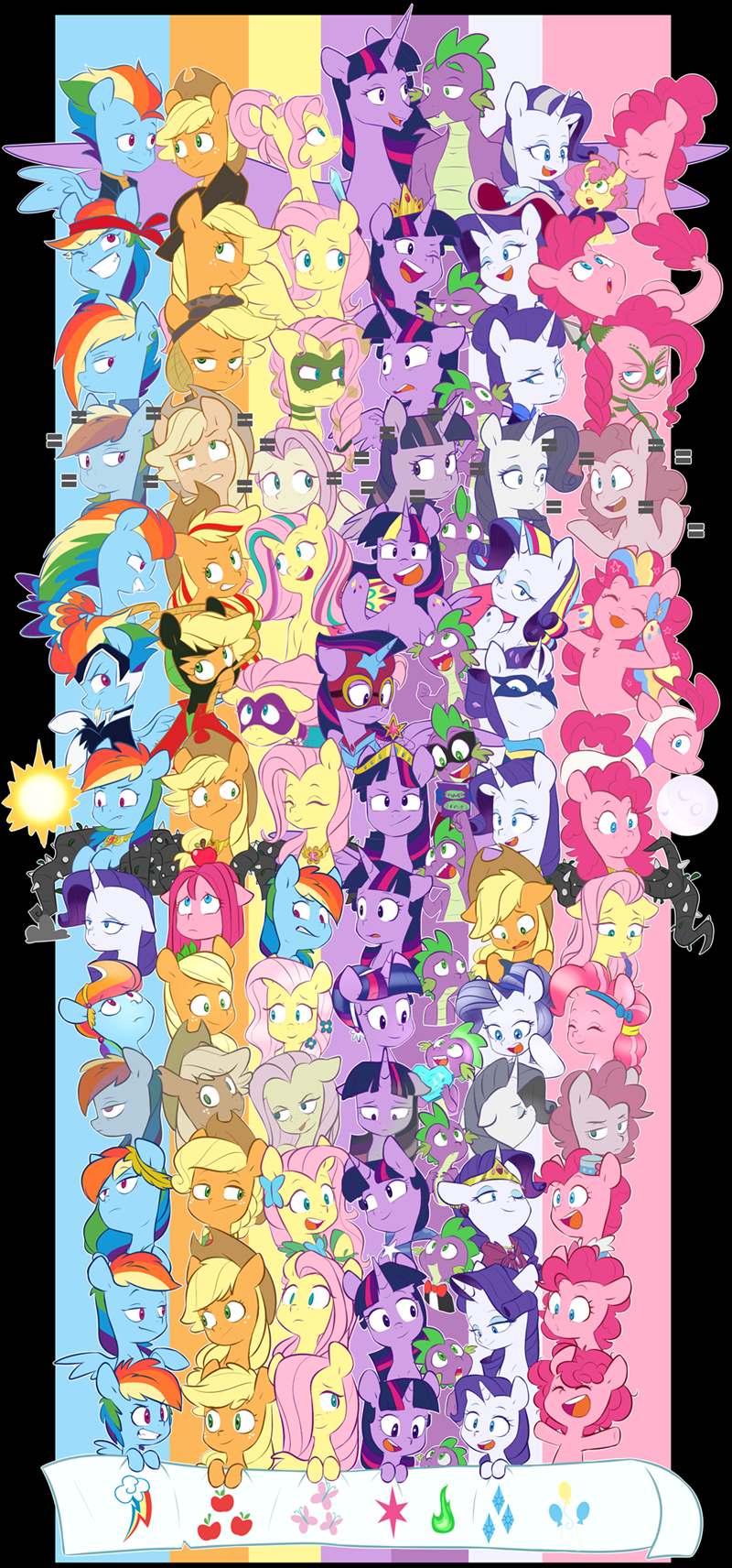 the cutie re-mark the best night ever spike the crystal empire applejack princess twilight sparkle my little pony the movie twilight sparkle the cutie map pinkie pie twilight's kingdom rarity li'l cheese chub-wub power ponies fluttershy the return of harmony rainbow dash the last problem - 9576435200