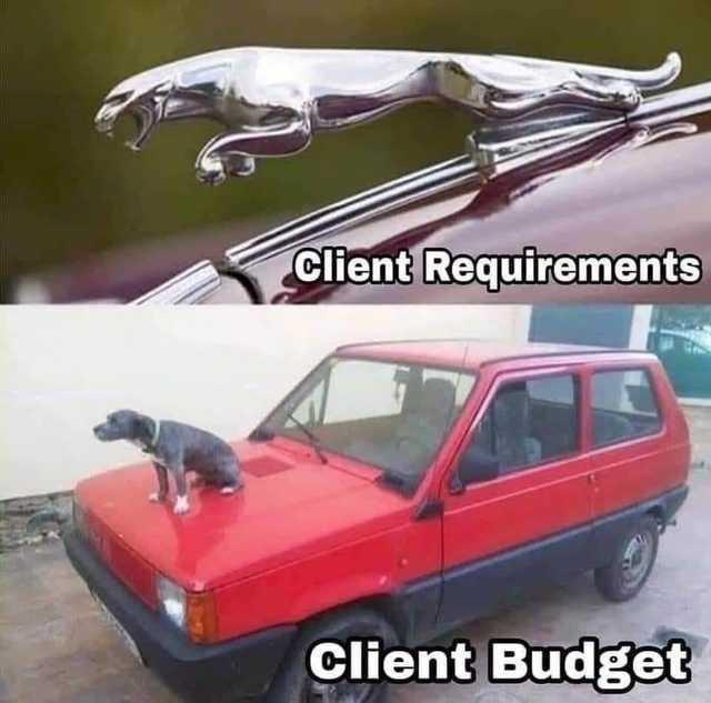 Motor vehicle - Client Requirements Client Budget