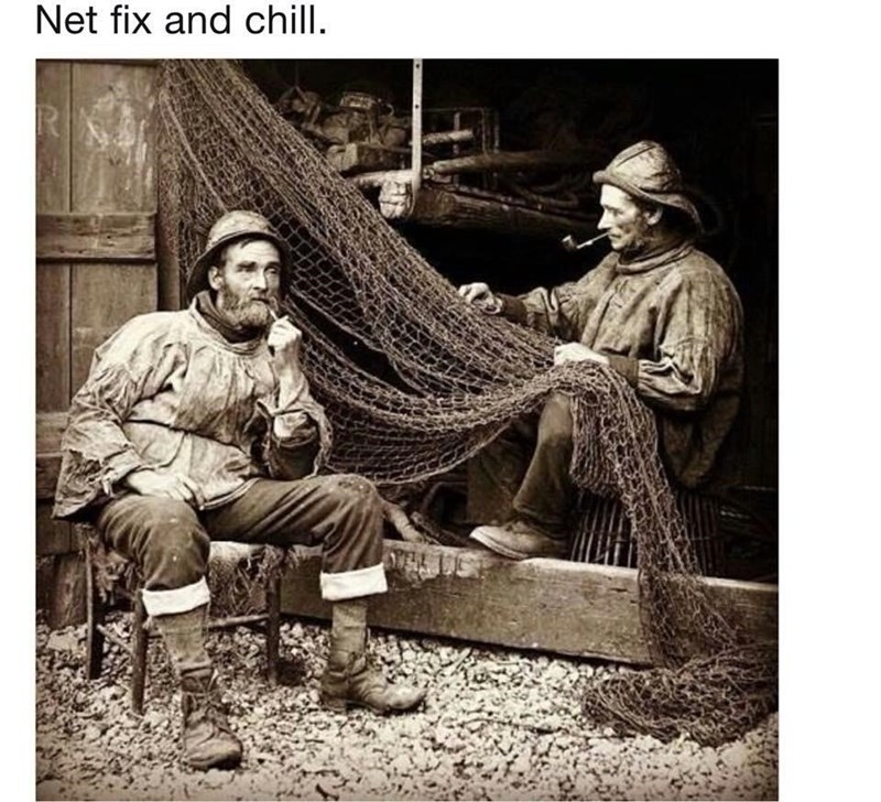 Human - Net fix and chill.