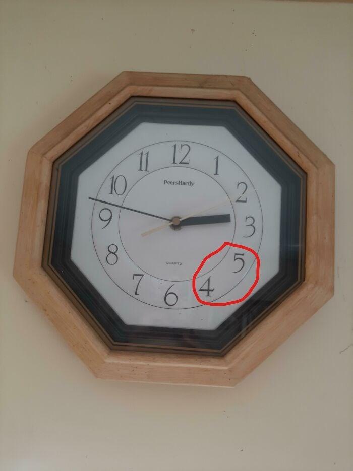 Clock - 11 12 10 PeersHardy 3. 5. 4 QUANTZ