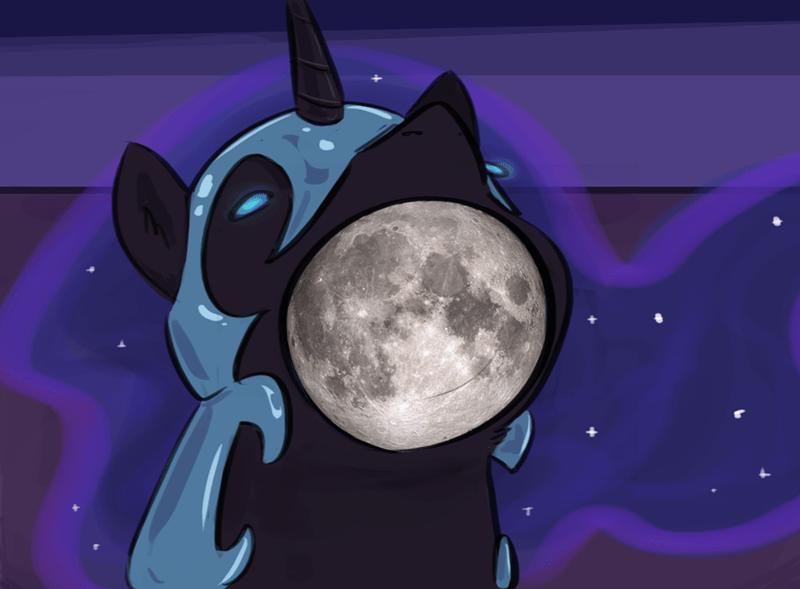 nightmare moon testostepone princess luna - 9578593024