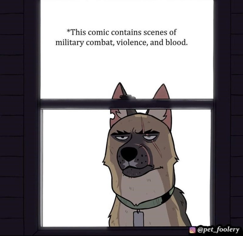 Carnivore - *This comic contains scenes of military combat, violence, and blood. @pet_foolery