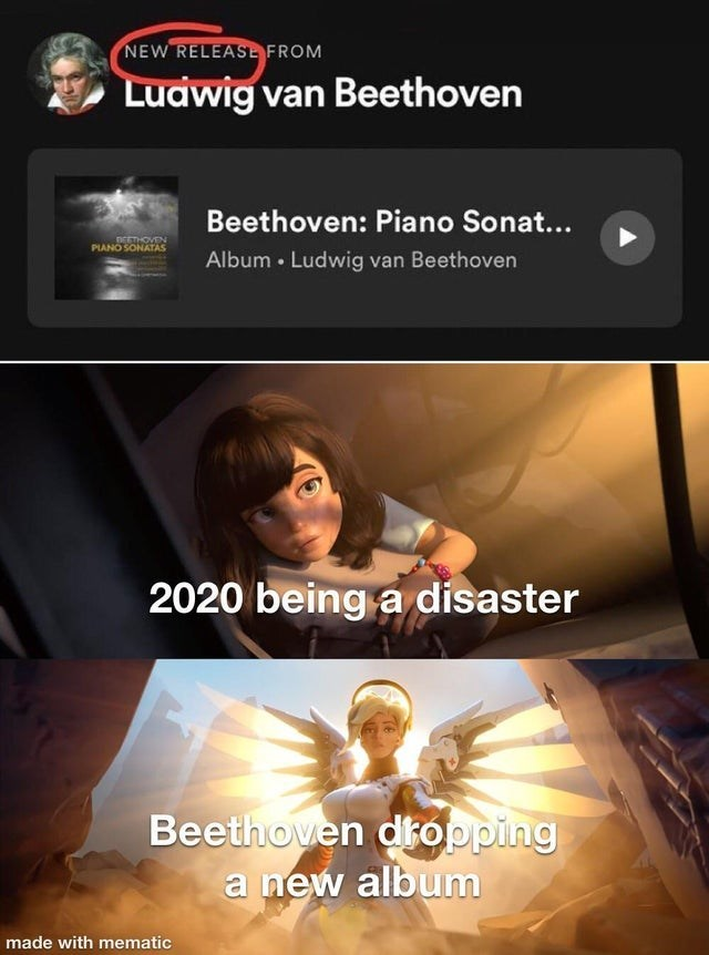 Human - NEW RELEASE FROM Luawig van Beethoven Beethoven: Piano Sonat... PIANO SONATAS Album • Ludwig van Beethoven 2020 being a disaster Beethoven dropping a new album made with mematic