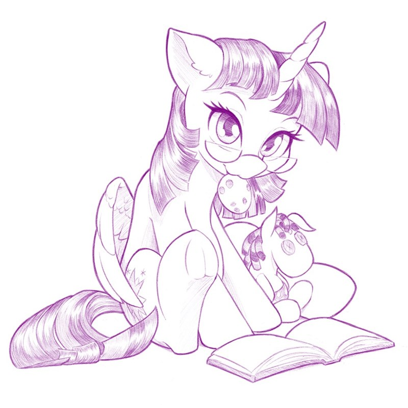 dstears twilight sparkle smarty pants - 9581036288