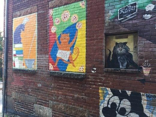 cats street art