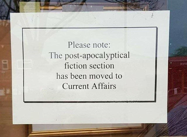 Wood - Please note: The post-apocalyptical fiction section has been moved to Current Affairs
