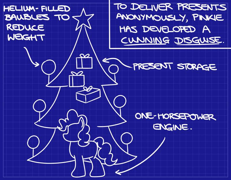 christmas Sweetie Belle pinkie pie hoofclid - 9581374208