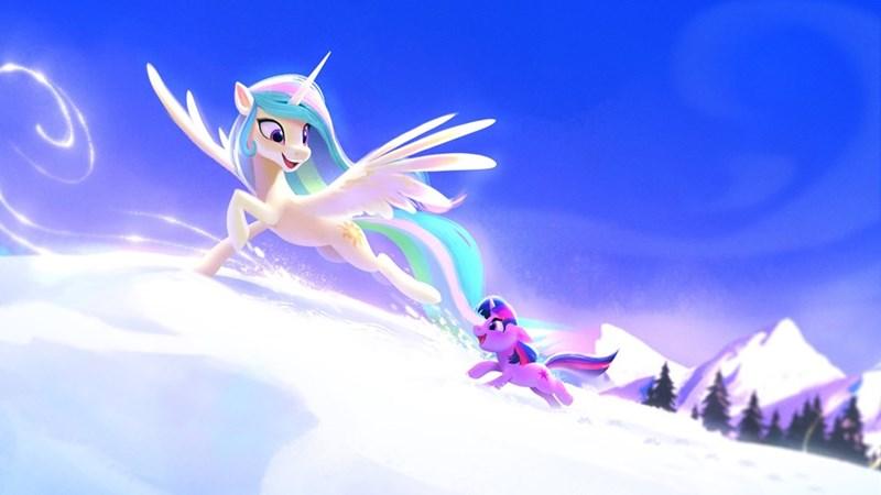twilight sparkle princess celestia imalou - 9581374976