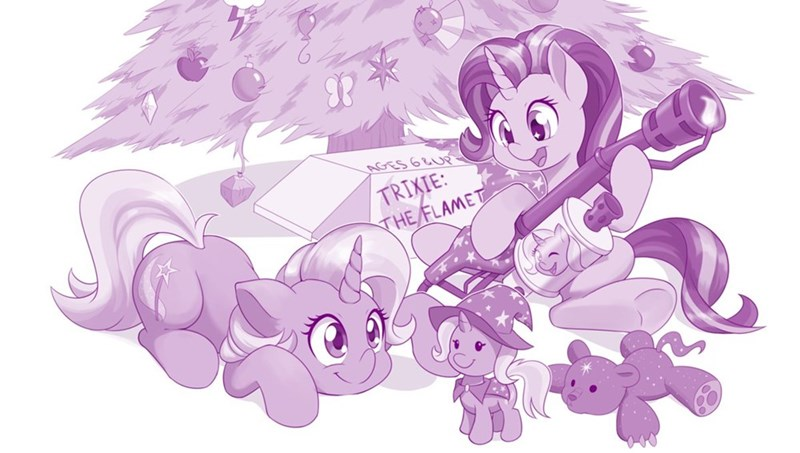 dstears christmas the great and powerful trixie starlight glimmer ursa minor - 9581861632