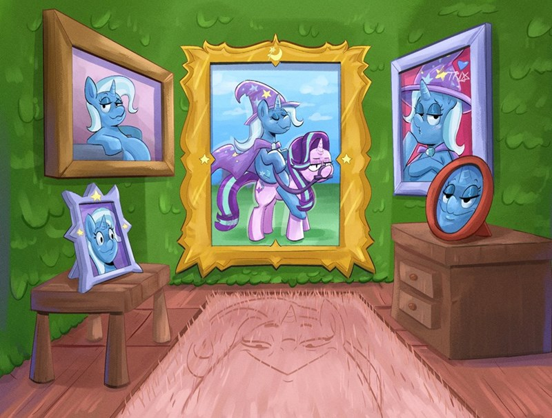 the great and powerful trixie another_pony starlight glimmer SpongeBob SquarePants ponify - 9582688000