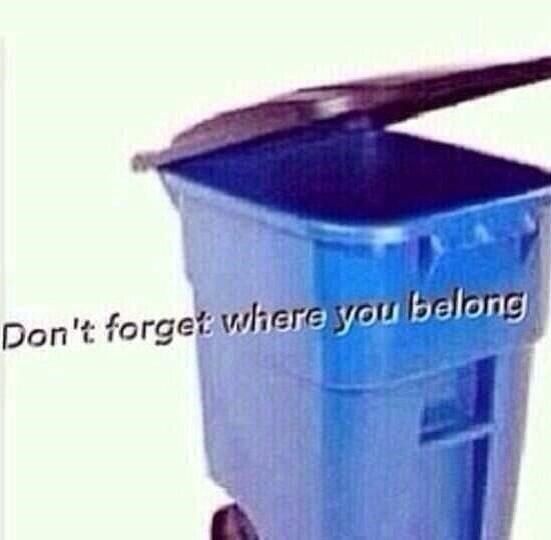 Blue - Don't forget where you belong