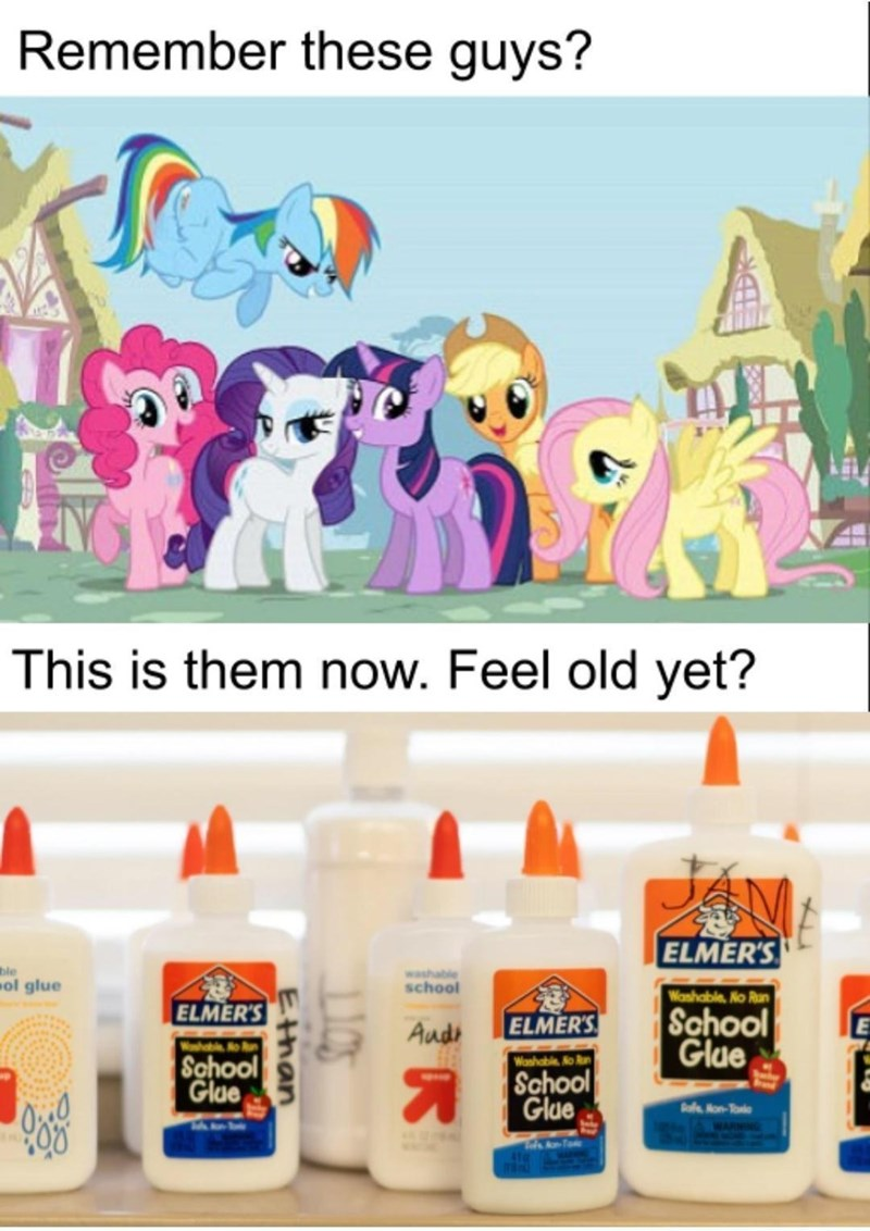Liquid - Remember these guys? This is them now. Feel old yet? ELMER'S ble ol glue washable school Washable, No Run ELMER'S School Glue Audo ELMER'S Washable No School Glue Washable No Run A School Glue Rafe Hon-Toxie 105 than