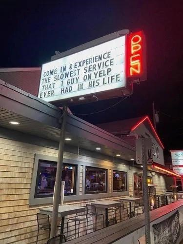 Night - COME IN &EXPERIENCE THE SLOWEST SERVICE THAT 1 GUY ON YELP EVER HAD IN HIS LIFE