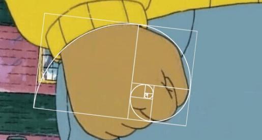 list trolling Memes fibonacci spiral - 958469
