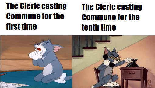 Animation - Organism - The Cleric casting Commune for the The Cleric casting Commune for the first time tenth time CS