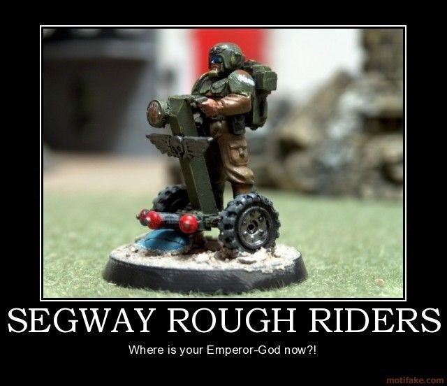 Toy - SEGWAY ROUGH RIDERS Where is your Emperor-God now?! motifake.com