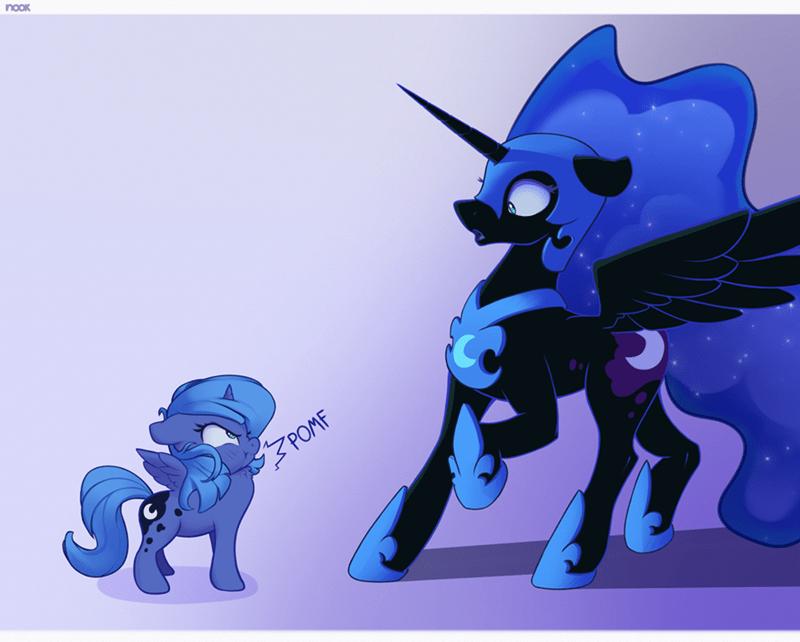 nookprint nightmare moon princess luna - 9586220032
