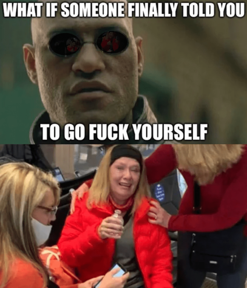 Eyewear - WHAT IF SOMEONE FINALLY TOLD YOU TO GO FUCK YOURSELF
