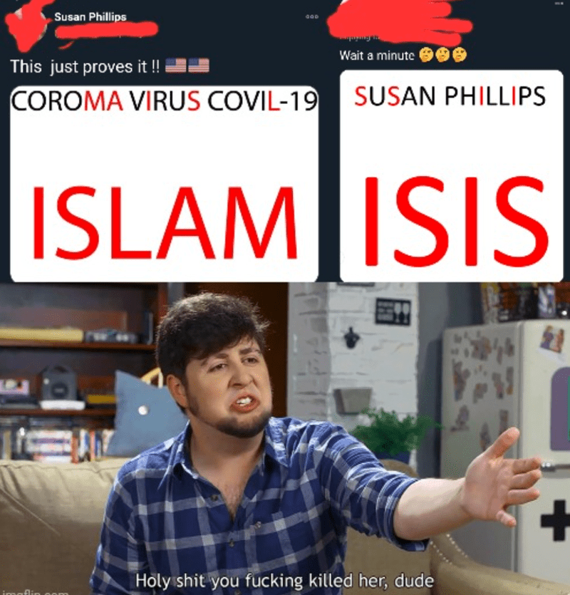 Dress shirt - Susan Phillips Wait a minute This just proves it ! COROMA VIRUS COVIL-19 SUSAN PHILLIPS ISLAM ISIS 21 +. Holy shit you fucking killed her, dude