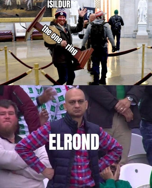 Music - ISILDUR RU the one ring ELROND