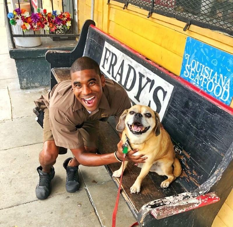 Dog breed - LOUISIANA SEAFOOD FRADY'S ups
