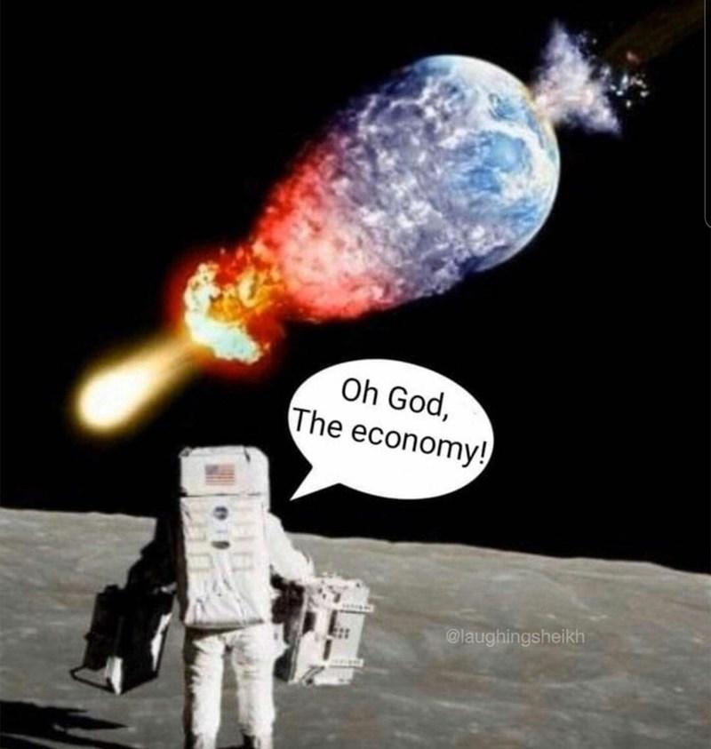 Light - Oh God, The economy! @laughingsheikh