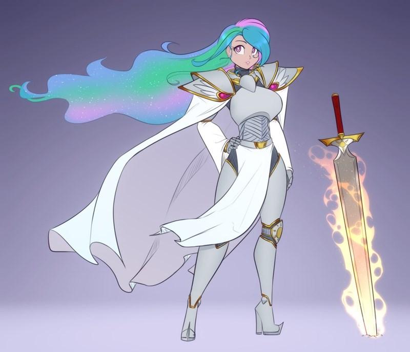 scorpdk humanized princess celestia - 9587896064